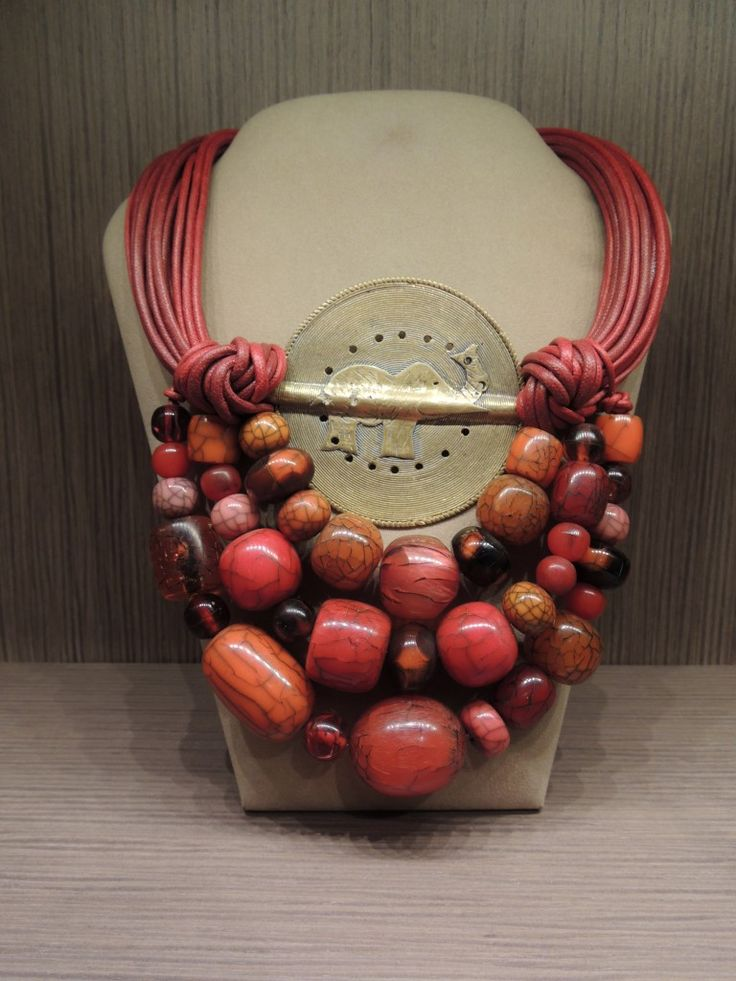 Beautiful ethnic necklace... #cillabijoux