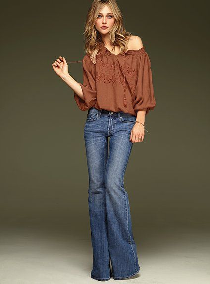 97 best images about Design: Flared Jeans on Pinterest | Outfit ...