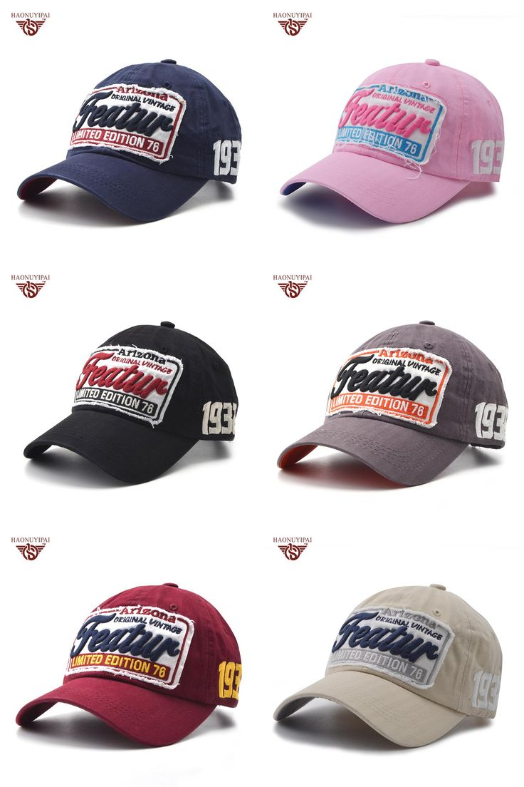 [Visit to Buy] New Chic Adjustable Baseball Cap Fashion Peaked Caps Male And Female Hip-Hop Patch Spring Hat Embroidery Letter Snapback  CL-189 #Advertisement