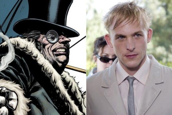 'GOTHAM' CASTS ROBIN TAYLOR AS PENGUIN, SEAN PERTWEE AS ALFRED AND ZABRYNA GUEVARA AS SARAH ESSEN