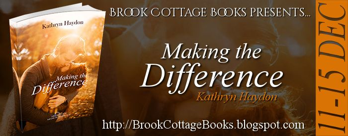 #BlogTour #Extract ~ Making The Difference by Kathryn Haydon #Giveaway @BrookCottageBks