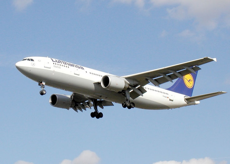 Airbus A300 flew us to Frankfurt Germany back in 2001