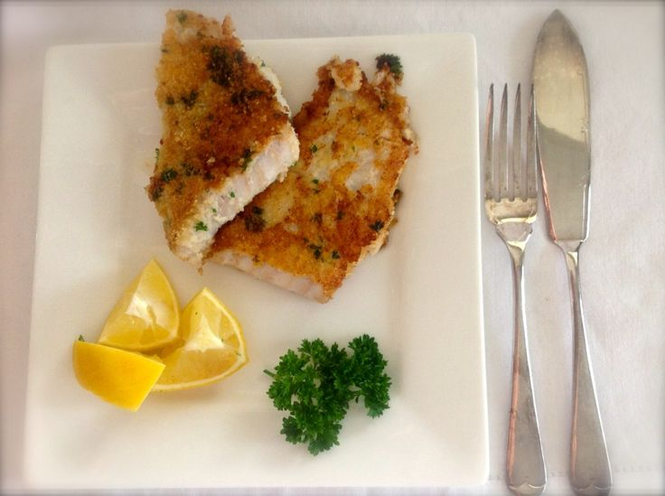 Wheat free and gluten free lemon and parsley crumbed fish fillets, fish fingers and fish bites. Fresh and healthy choice for dinner tonight.