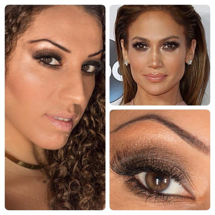 Jennifer Lopez Inspired Makeup Tutorial (AMAs) #makeup #makeuptutorial #makeupartist #trucco #beauty #look #sexy #fashion #style #work #woman #girl #smokey #lips #mac #mufe #naked #mymua #youtubechanel