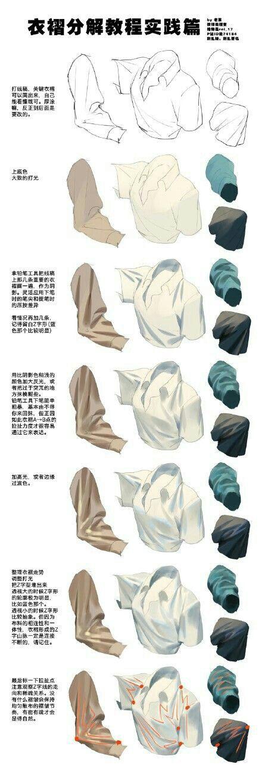Dessiner un drapé