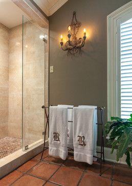 terra cotta tiles bathroom design ideas, pictures, remodel