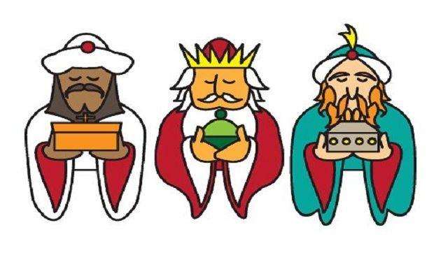 Dibujos de Reyes Magos de Oriente - Entre Padres