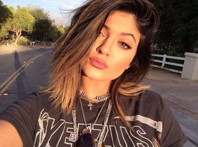 Kylie Jenner eyebrows