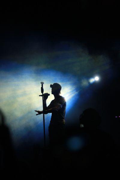 Concierto de Enrique Iglesias en Tegucigalpa,Honduras 09 de Julio de 2011.