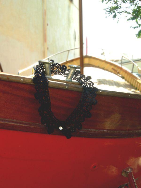 Maria Francesca collar necklace