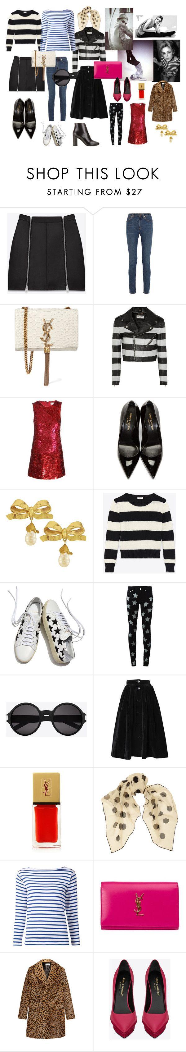 Saint Laurent - Edie Sedgwick by jenny-ragnwaldh on Polyvore featuring Yves Saint Laurent, Vintage, Sedgwick, women's clothing, women's fashion, women, female, woman, misses and juniors