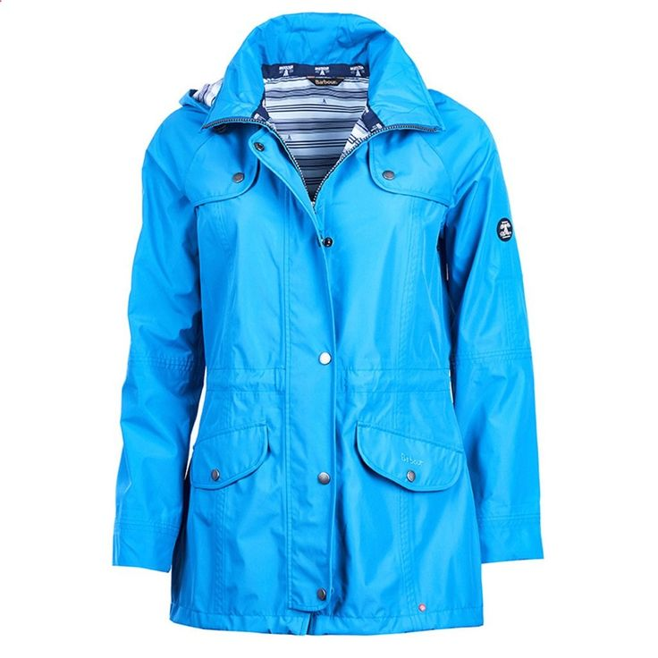 Trevose Waterproof Jacket in Beachcomber Blue by Barbour #Barbour #Barbour-Sale-Spring-17 #Barbour-Womens