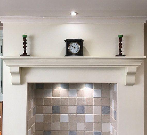 Mantle Fireplace Shelf Over Mantel Floating Piece Victorian Etsy Fireplace Shelves Kitchen Fireplace Mantel Shelf