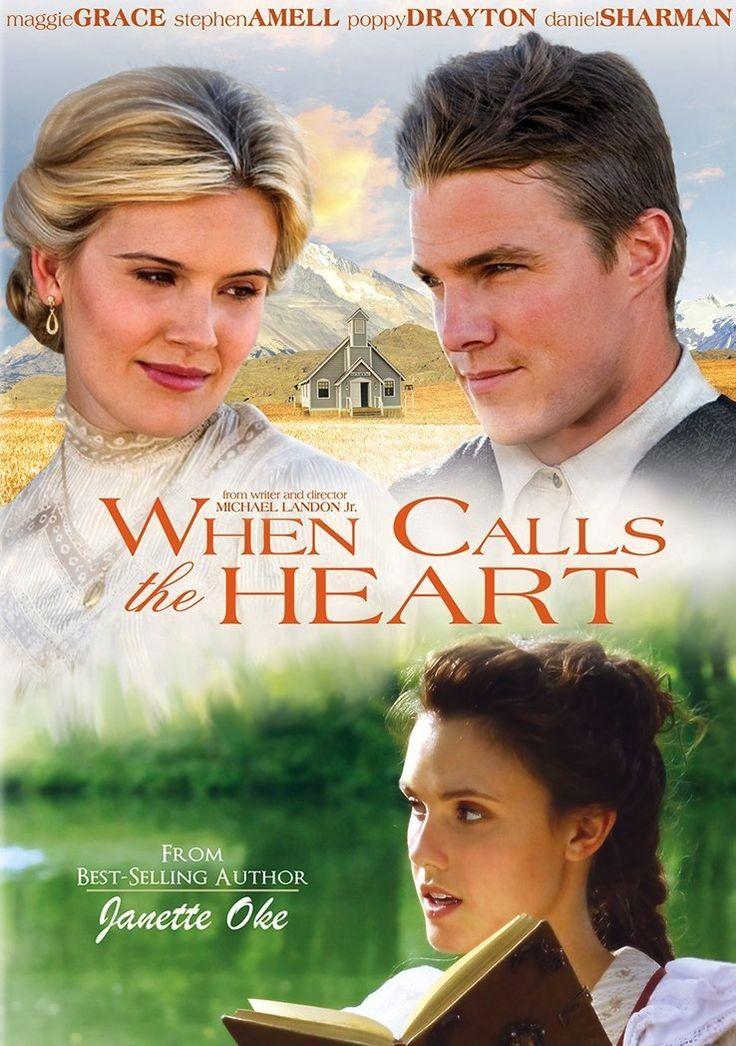 When Calls the Heart ~This was a sweet, humorous, and touching movie overall. Though it does have flashbacks to that story, this movie is not a film of Janette Oke's book When Calls the Heart.