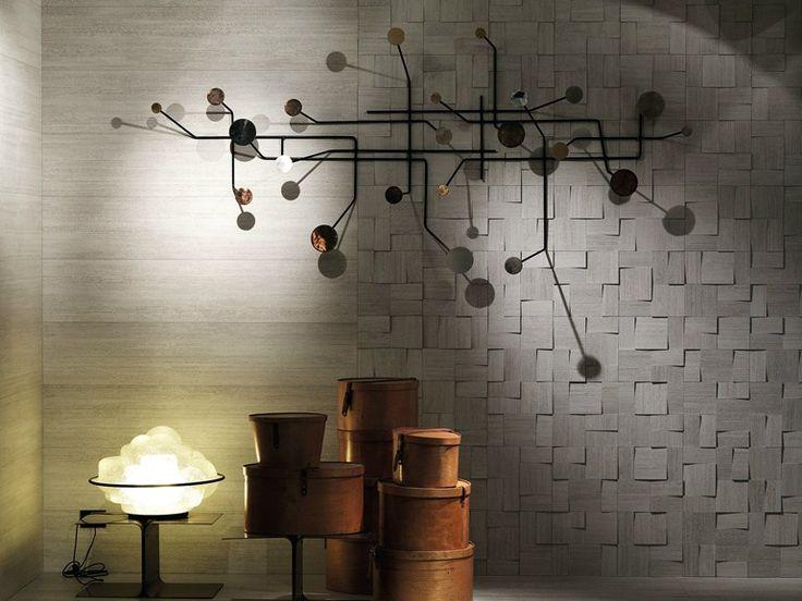 PORCELAIN STONEWARE 3D WALL MOSAIC DUTCH BY CERAMICA SANT'AGOSTINO