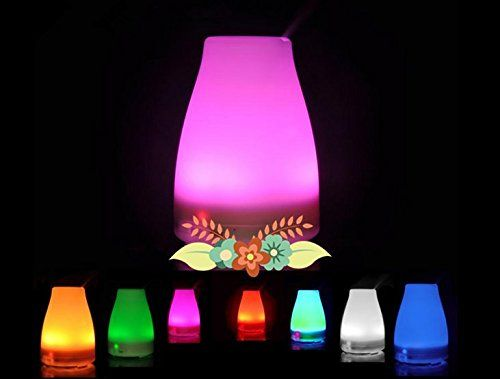 Special Offers - MCLLROY Essential Oil Diffuser-Cool Mist Aroma Humidifier-7 Color LED Lights Changing With Auto Shut Off Safety!(120ML) - In stock & Free Shipping. You can save more money! Check It (April 15 2016 at 06:01AM) >> http://hepaairpurifierusa.net/mcllroy-essential-oil-diffuser-cool-mist-aroma-humidifier-7-color-led-lights-changing-with-auto-shut-off-safety120ml/