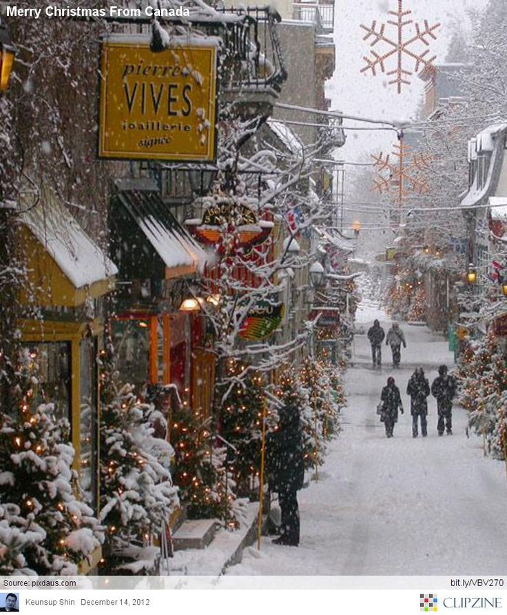 Quebec is beautiful, no matter what the season. It's like going to Europe but without the long plane ride!