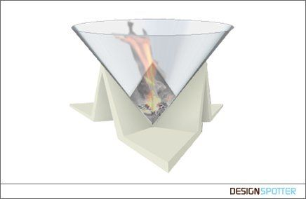 bio fireplace Fireplace by ethanol, environmental friendly, perfect to warm Your home.  Designer: Artur GRAB (Poland)
