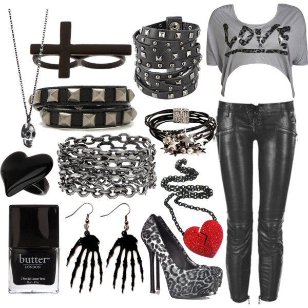 Outfits, gothic fashion