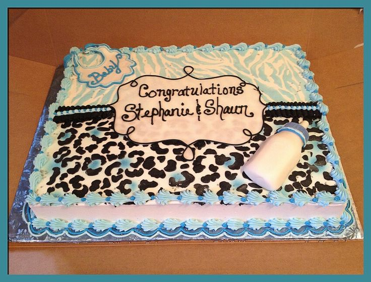 best sheet cakes images on   sheet cakes, cake, Baby shower