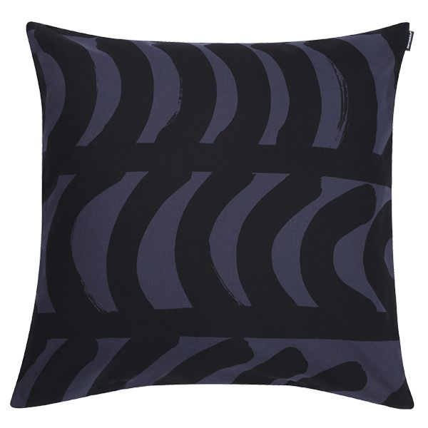 Fodera per cuscino Rautasänky 50 x 50 cm, grigio scuro