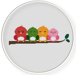 Instant download,free shipping,Cross stitch pattern, PDF,birds,friendship ,ZXXC0522 by danceneedle on Etsy https://www.etsy.com/ie/listing/201909596/instant-downloadfree-shippingcross