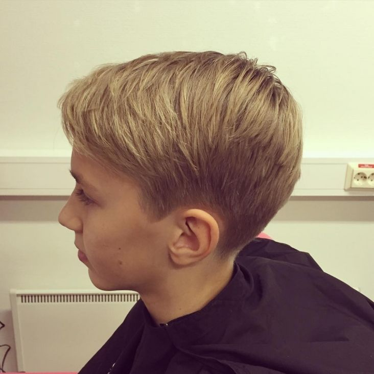 10 year boys haircut