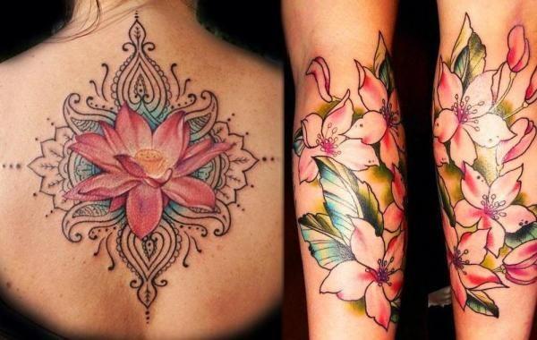Quelle est la signification des tatouages de fleurs