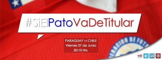 Resultado : Chile 2 - Paraguay 1
