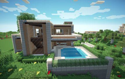 Minecraft Einville Modern community
