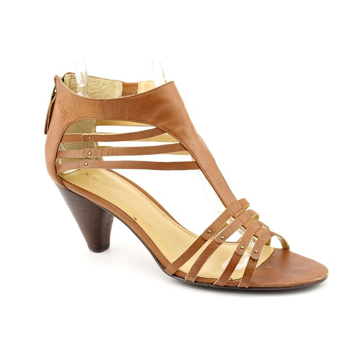 Nine West For Sake --- $27.99 902.39 руб. --- The Nine West For Sake shoes feature a leather upper with an open toe. The a man-made outsole lends lasting traction and wear.
