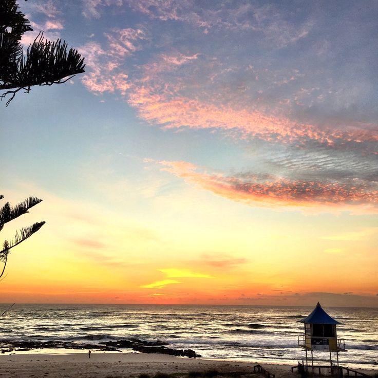 Sunrise The Entrance Beach NSW