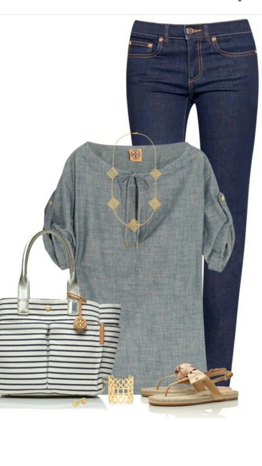 Summer casual- Polyvore