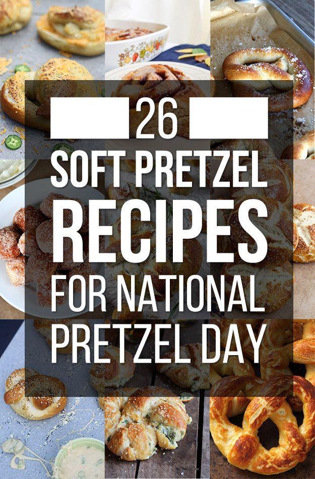 26 Soft Pretzel Recipes For National Pretzel Day @bu