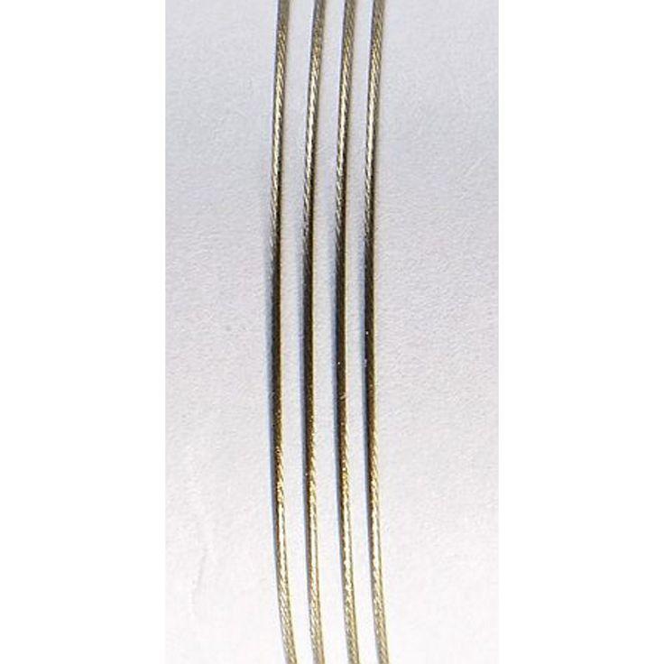 Smykkewire Gullfrg 0,45mm/10m
