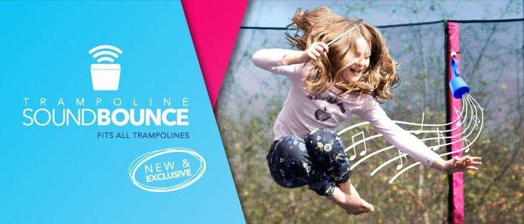 Trampoline 'SoundBounce' Bluetooth Speaker- the perfect trampoline accessory. #soundbounce #bluetoothspeaker #accessory #trampolineaccessory #trampoline #oztrampolines