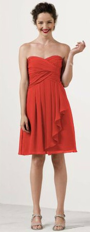 COLOR :) - Shop David&-39-s Bridal -bridesmaid dresses in Persimmon ...