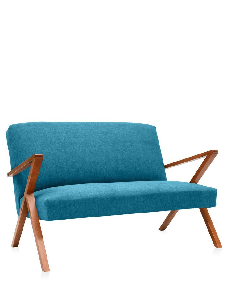 retrostar 2 sitzer sofa t rkis von sternzeit design. Black Bedroom Furniture Sets. Home Design Ideas