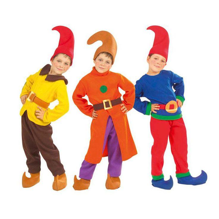 Disfraz de Gnomo para niño #disfraces #carnaval #outlet #rebajas