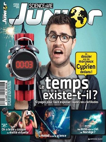 Science et Vie Junior - janvier 2015 - n° 304
