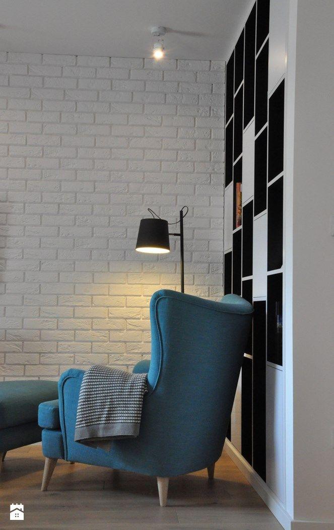 Nadwiślańska / mieszkanie podróżniczki - zdjęcie od NIESKROMNE PROGI - Salon - Styl Skandynawski - NIESKROMNE PROGI