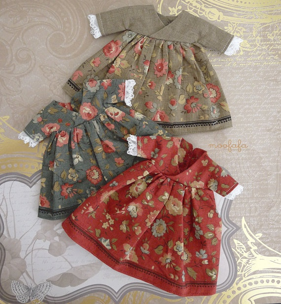 Mooji Heart  two layers dress set  Boston Brick