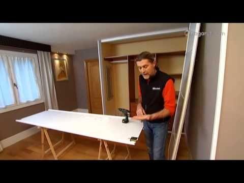 Crear puertas correderas para armario - YouTube