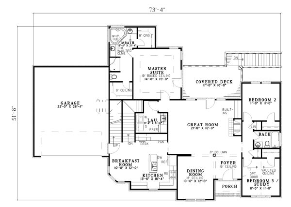 House Plan Chp 15017 At COOLhouseplans.com