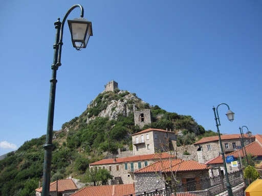 medieval Karitena, with citadel - Peloponnese - a day trip from Hydra