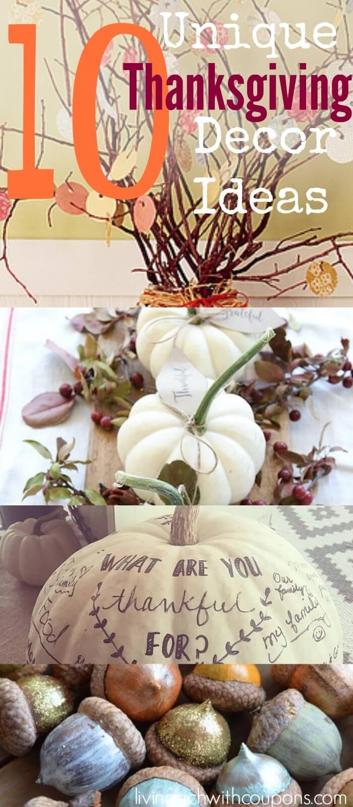 Unique thanksgiving decoration ideas decor and