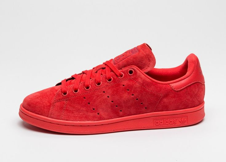 adidas Stan Smith (Red / Red / Power Red)