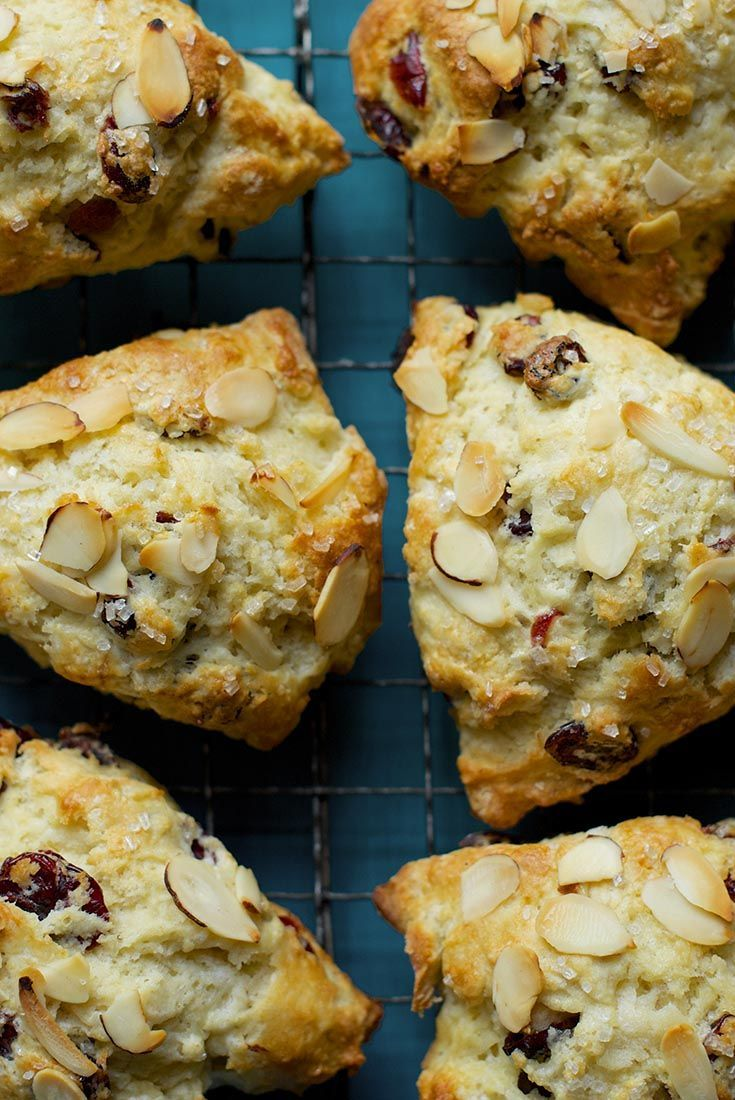 """Basic """"start here"""" scone recipe. While this simple vanilla scone is delicious as is, it's also the perfect vehicle for your favorite add-ins (as seen above)."""