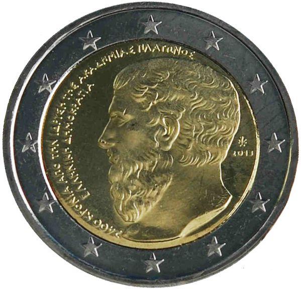 """Moneta Celebrativa""""2400° anniv. Fondazione Accademia Platonica"""" Anno: 2013 Stato: Grecia"""