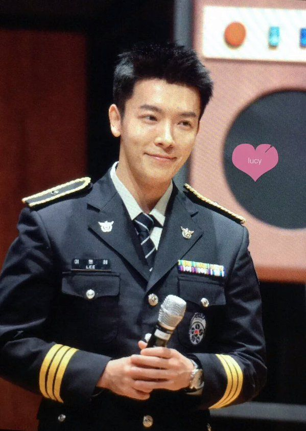 Super Junior Donghae's Unfading Handsomeness In Police Uniform
